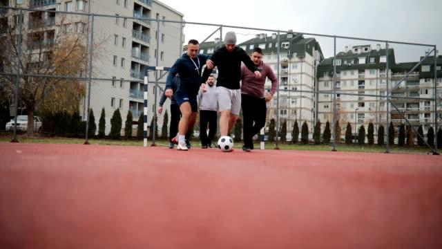 Street football video