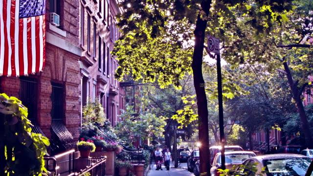 Street in Brooklyn, New York video