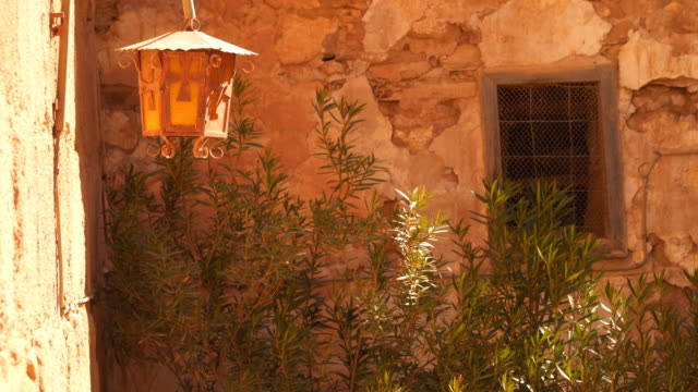 Street lamp in the Monastery of St. Catherine video