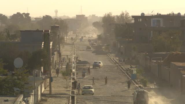 Street of Mazar-e-Sharif, Afghanistan. video