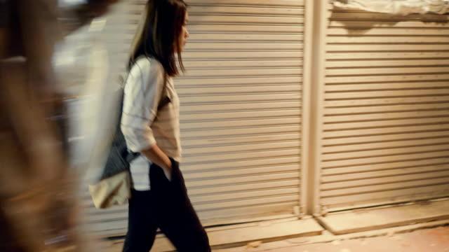 Street style walking