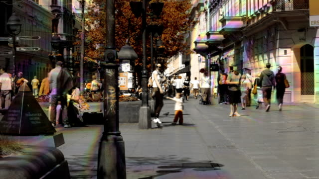 Street Time Lapse video
