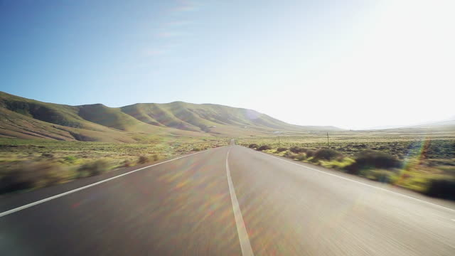 street - viaggio su strada video stock e b–roll