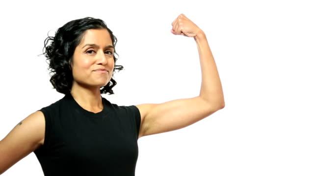 siła - napinać mięśnie filmów i materiałów b-roll