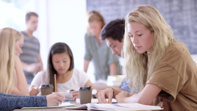 大学の試験について強調 ビデオ