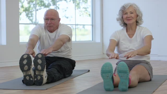 Stretching to Stay Fit video