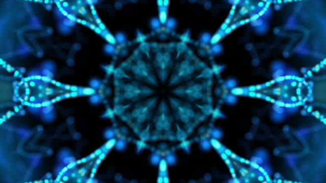 String Theory Background Loop Blue video