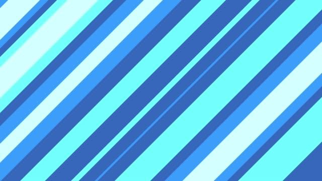Stripe slanting blue