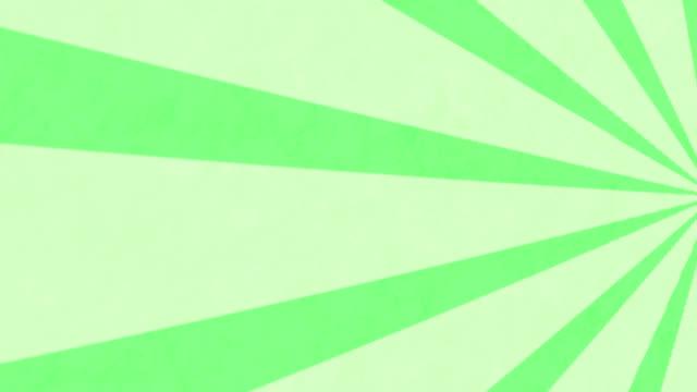 streifen, die sich vor grünem hintergrund drehen und bewegen - begriffssymbol stock-videos und b-roll-filmmaterial