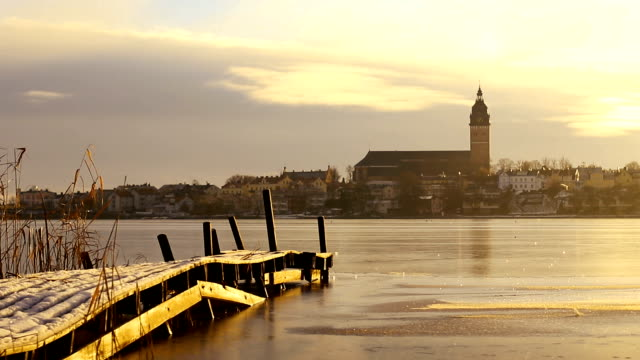 Strängnäs Cathedral and Jetty