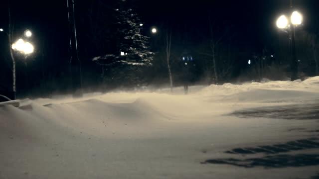 冬の強い風 - シベリア点の映像素材/bロール