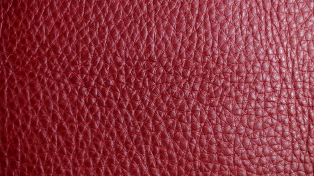 Structure, texture and surface pattern of red, yellow leather video