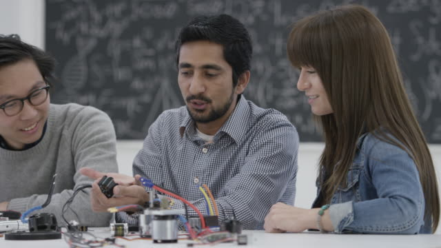 Students Discuss Drone Parts video