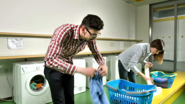 MS TU Students Doing The Laundry video
