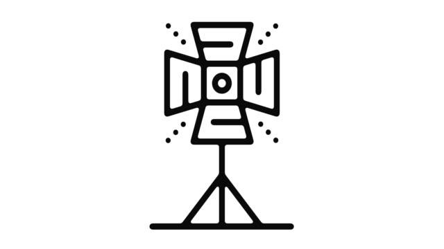 vidéos et rushes de studio line motion graphic - image projetée