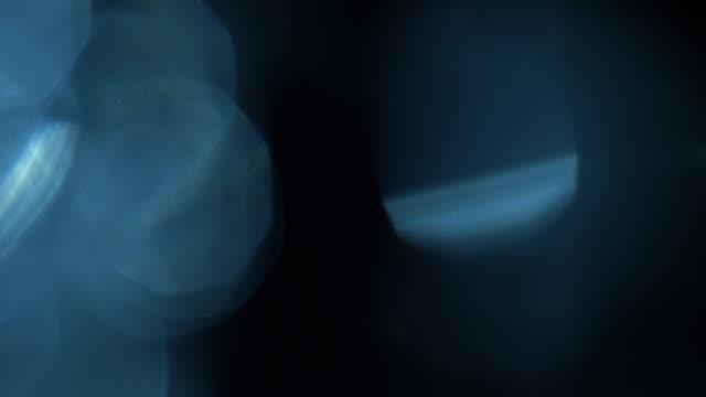 studio shot light leaks and lens flares - pallido video stock e b–roll