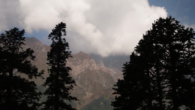 Stunning natural surroundings of the Himalayas video
