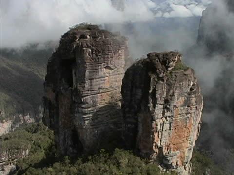 Stunning rock towers video
