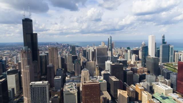 Stunning View of Chicago Skyline - 4K