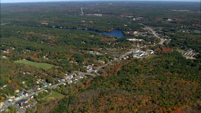 sturbridge - flygfoto - massachusetts, worcester county, usa - massachusetts bildbanksvideor och videomaterial från bakom kulisserna