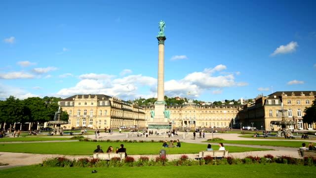 Stadtzentrum von Stuttgart – Video