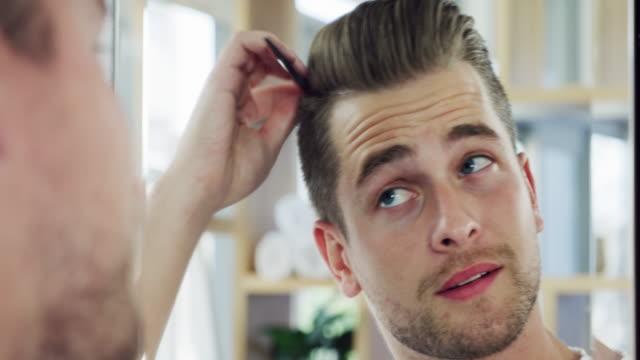 style the day your way - włosy filmów i materiałów b-roll