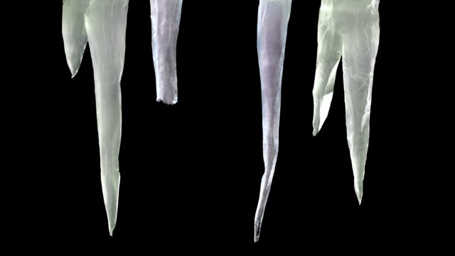 Stylised Icicles with Luma Matte 2 video