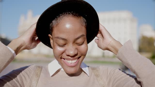 Stylish Fashion Blogger Video Portrait