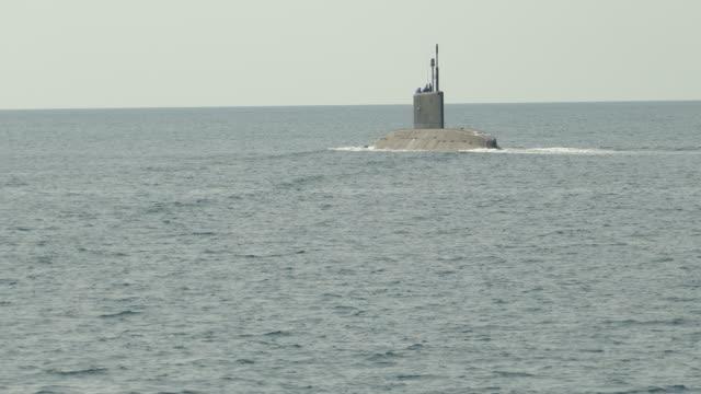 submarine at sea video