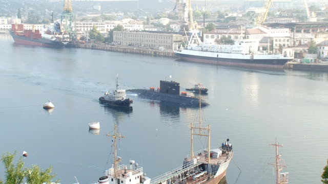 submarine in the port - port wine stock videos & royalty-free footage