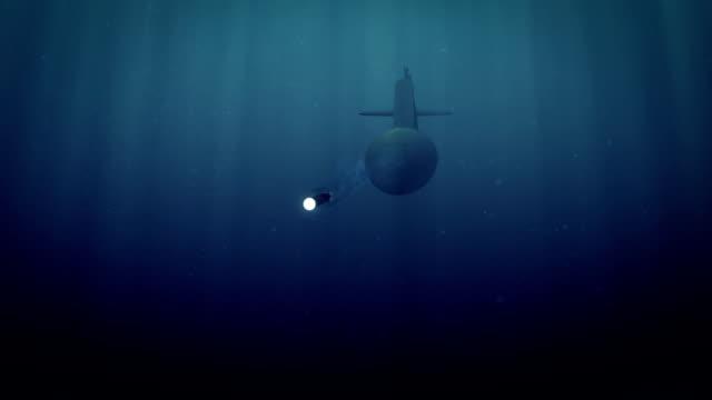 vídeos y material grabado en eventos de stock de torpedos de lanzamiento submarino - submarino debajo del agua