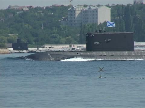 submarine surfaced video