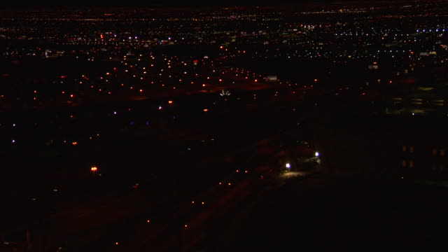 Suburb by night video