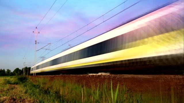 suburban train transport - intercity filmów i materiałów b-roll