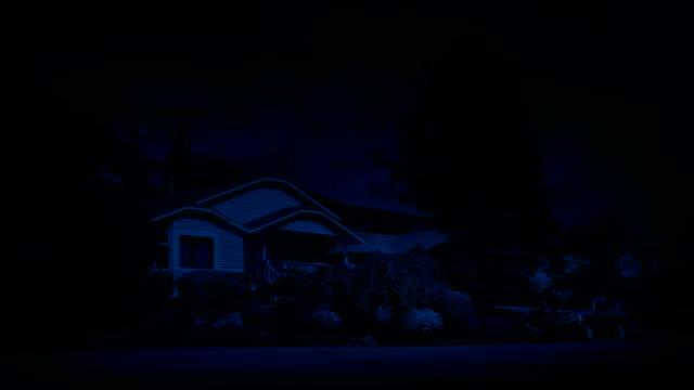 Suburbs At Night