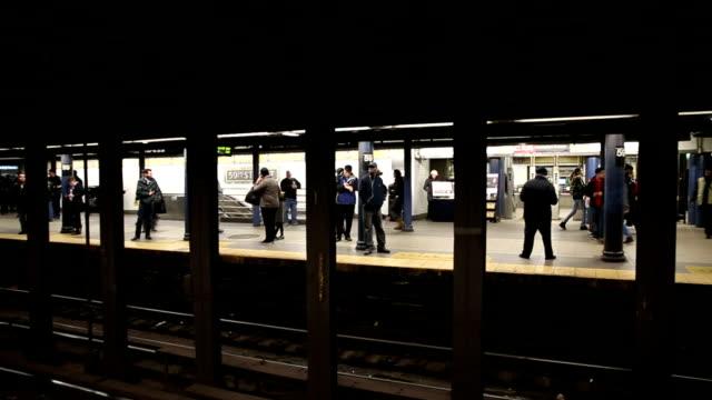 HD VDO :Subway in New York video