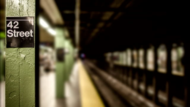 Subway Station in New York City video