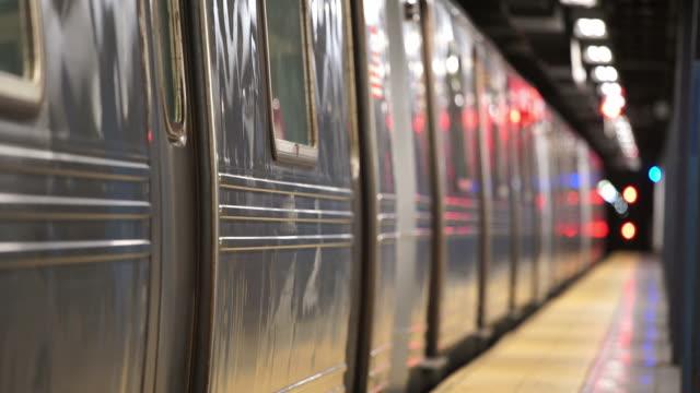 Subway Station Platform video