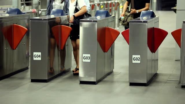 Subway Ticket machine video