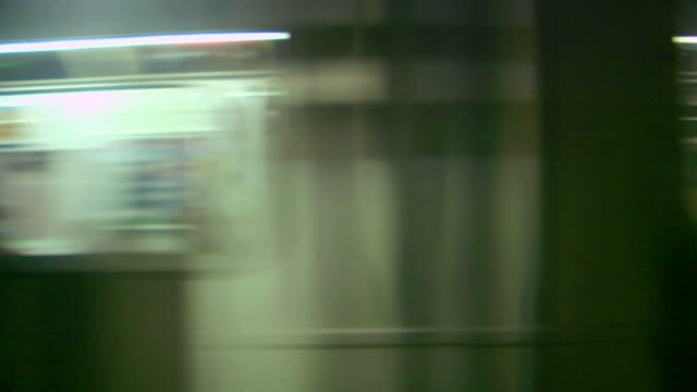 Subway Train. Loop-able  underground stock videos & royalty-free footage