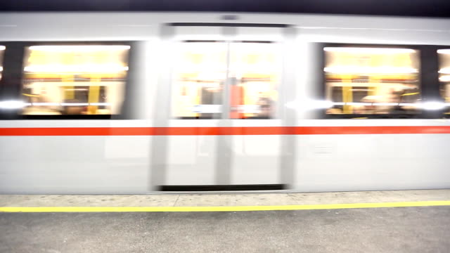Subway train (HD) video