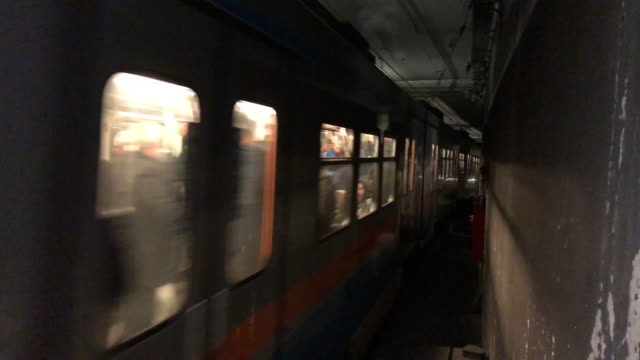 Subway Train Subway Train subway train stock videos & royalty-free footage