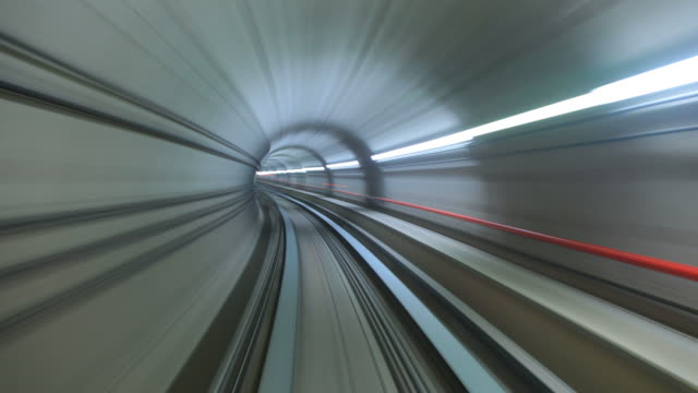 U-Bahn Tunnel Zoom – Video