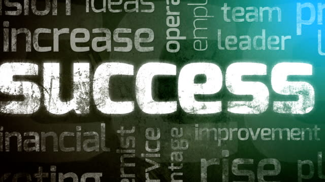 Success Animation Backround video