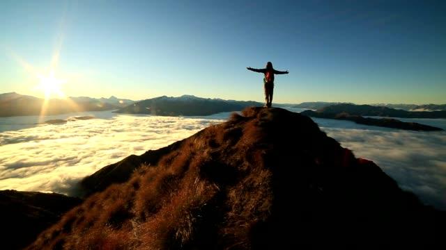 Success on mountain summit