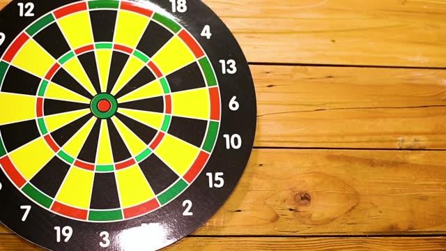 Success target business concept video