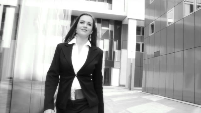 HD SLOW-MOTION: Successful Business Woman video
