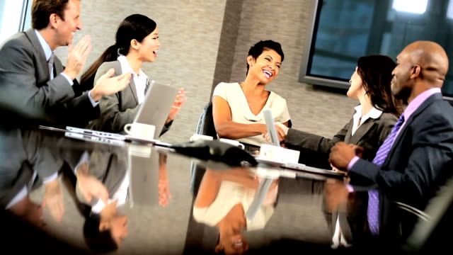 Successful Multi Ethnic Team of Business Advisors video