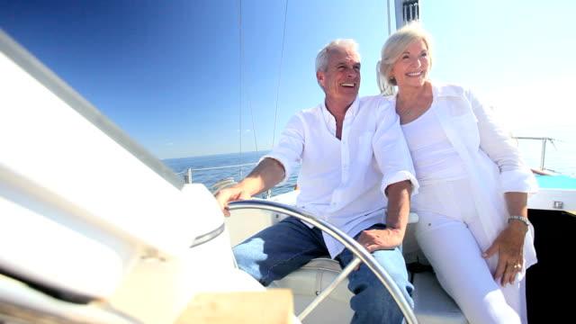 Successful Seniors Aboard their Yacht