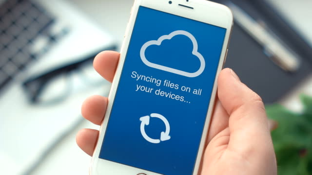 Successful syncing data on all digital devices from a smart phone video